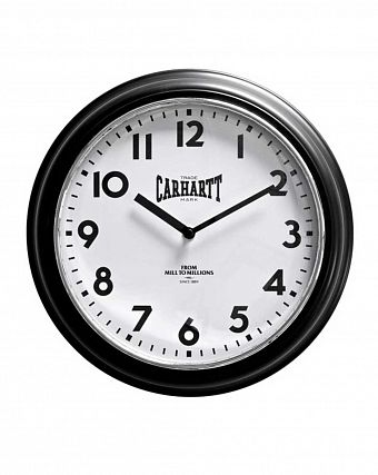 Часы настенные Carhartt WIP Wall Clock Black