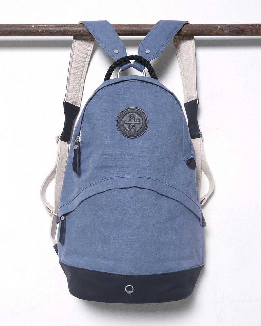 5a99fbc91bac Рюкзак Stighlorgan Oisin canvas zip-top backpack carriage blue