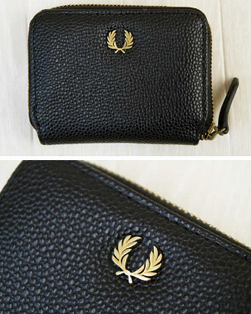 Кошелек Fred Perry Scotch Wallet Black отзывы