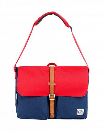 Сумка Herschel Columbia Navy Red