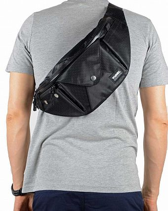 Сумка T Level Via 4L waistbag black Dot