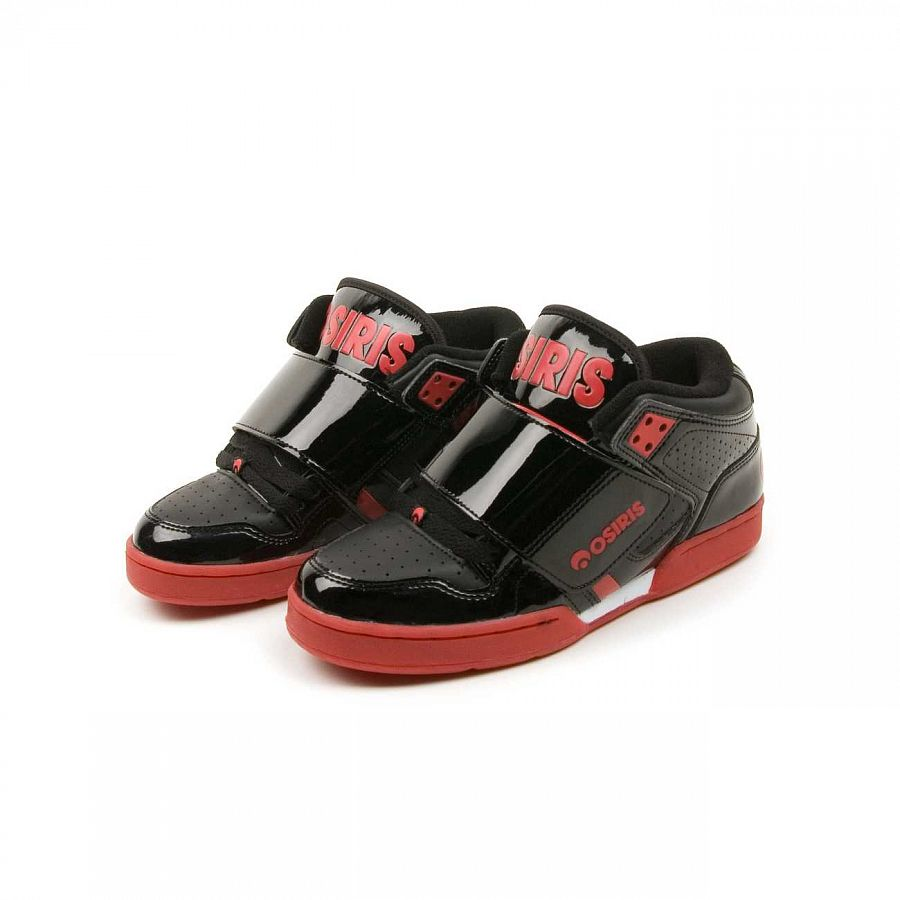 купить Кеды Osiris S Bronx Walker Black red Silver в Москве