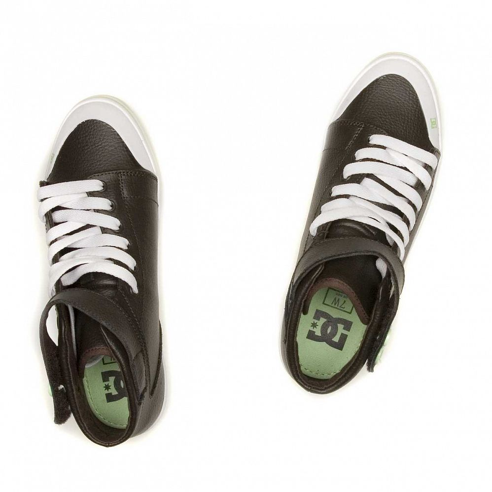 Кеды DC Shoes Venice Mid LE W'S Chocolate Green купить в интернете
