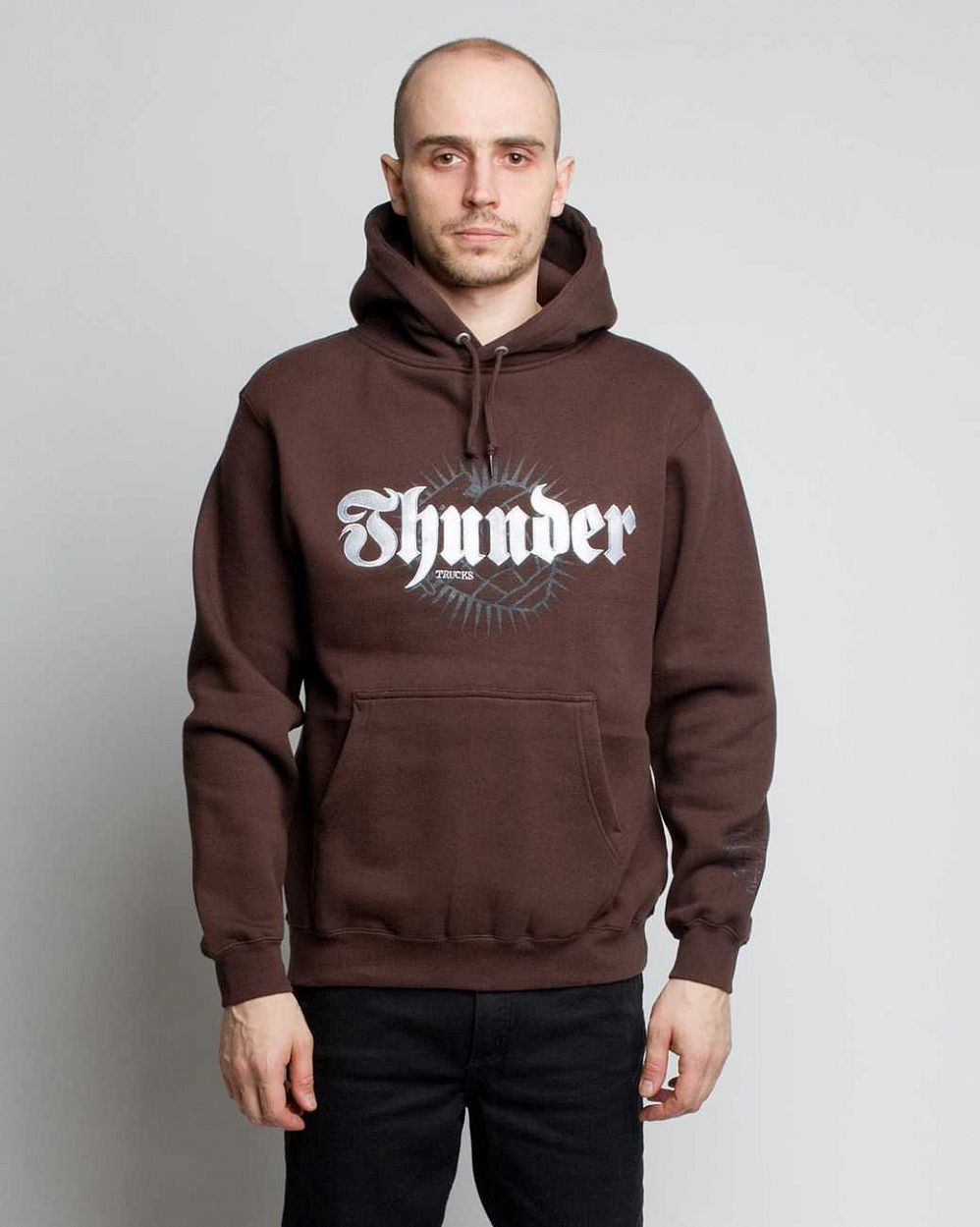 Толстовка Thunder Hood Brown отзывы