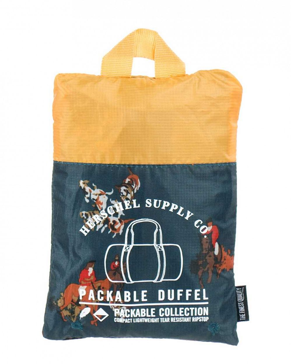 Сумка складная Herschel Packable Duffle Bag Hunt Copper купить в интернете