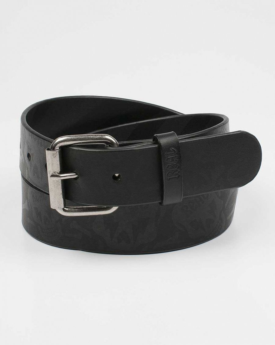 Ремень Real Morgue Skulls Leanher Belt Black отзывы