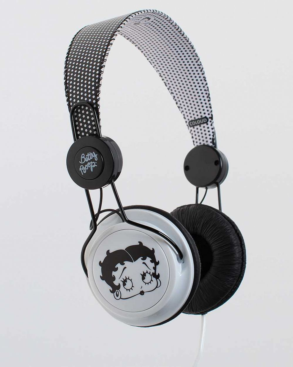 Наушники Coloud Betty Boop Black White отзывы