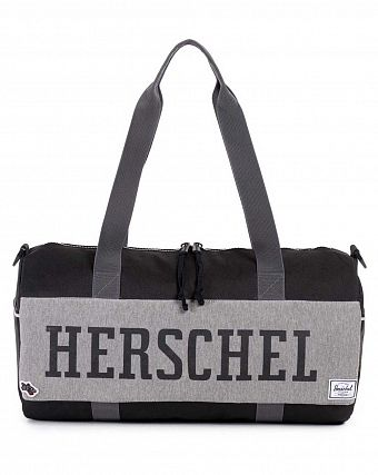 Сумка спортивная Herschel Sutton Mid-Volume Hounds Away Black Grey