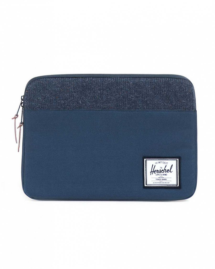 Чехол Herschel Anchor Sleeve для 13'' Macbook Navy Knit отзывы