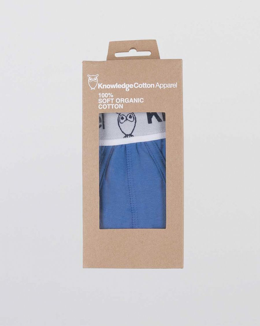 купить Трусы Knowledge Cotton Apparel Erik Underwear 2 pack Blue в Москве