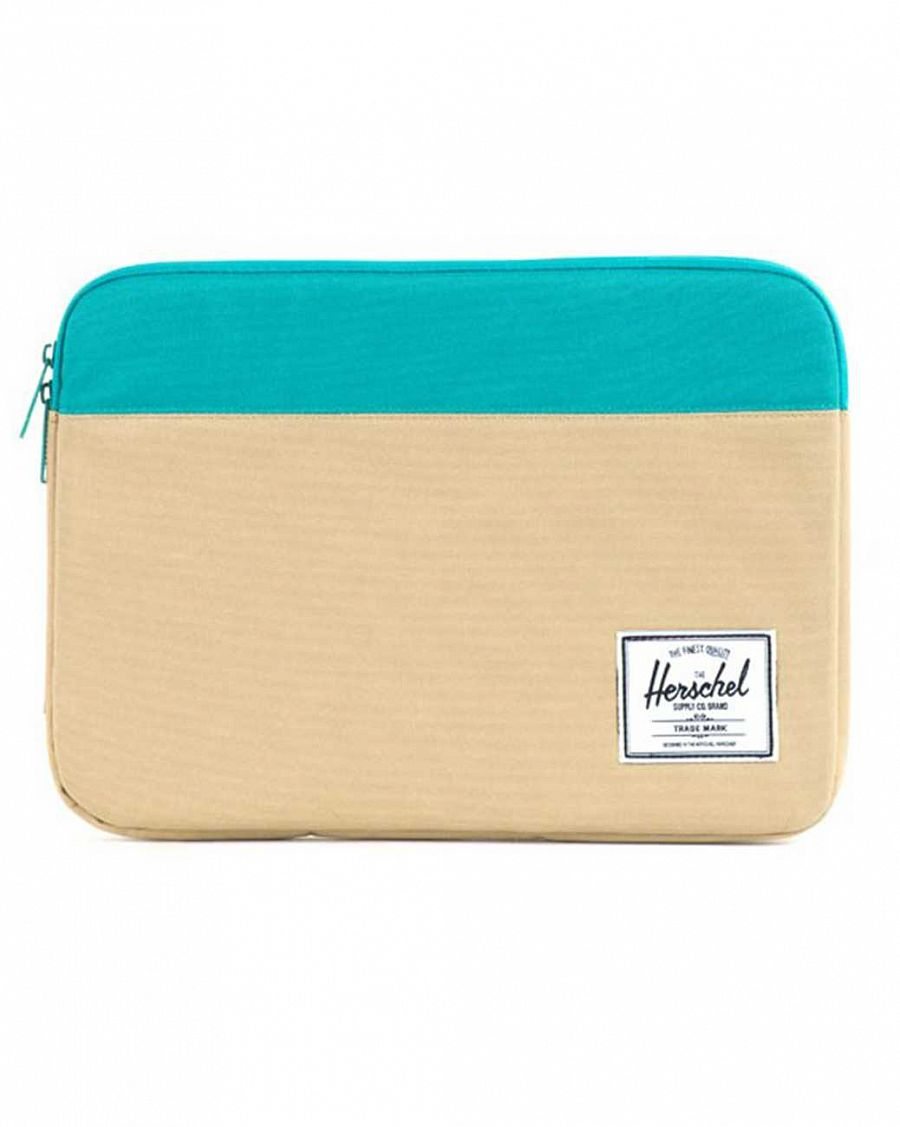 Чехол Herschel Anchor Sleeve для iPad Khaki Teal отзывы