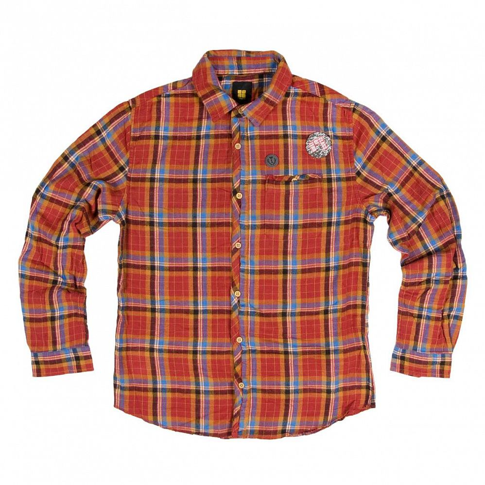 купить Рубашка Insight Superve Shirts LS ox Blood в Москве