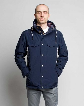 Куртка-Парка Loading Garments Supply Jacket Navy 1301