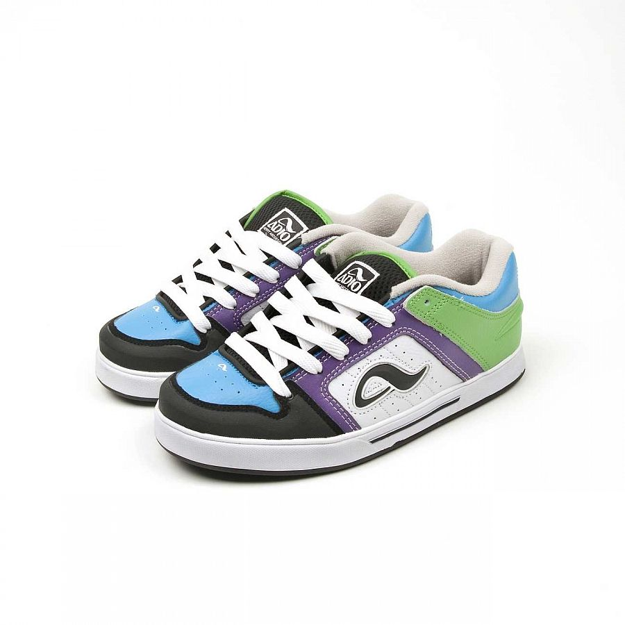 купить Кеды Adio Kenny v2 Blue purple green в Москве