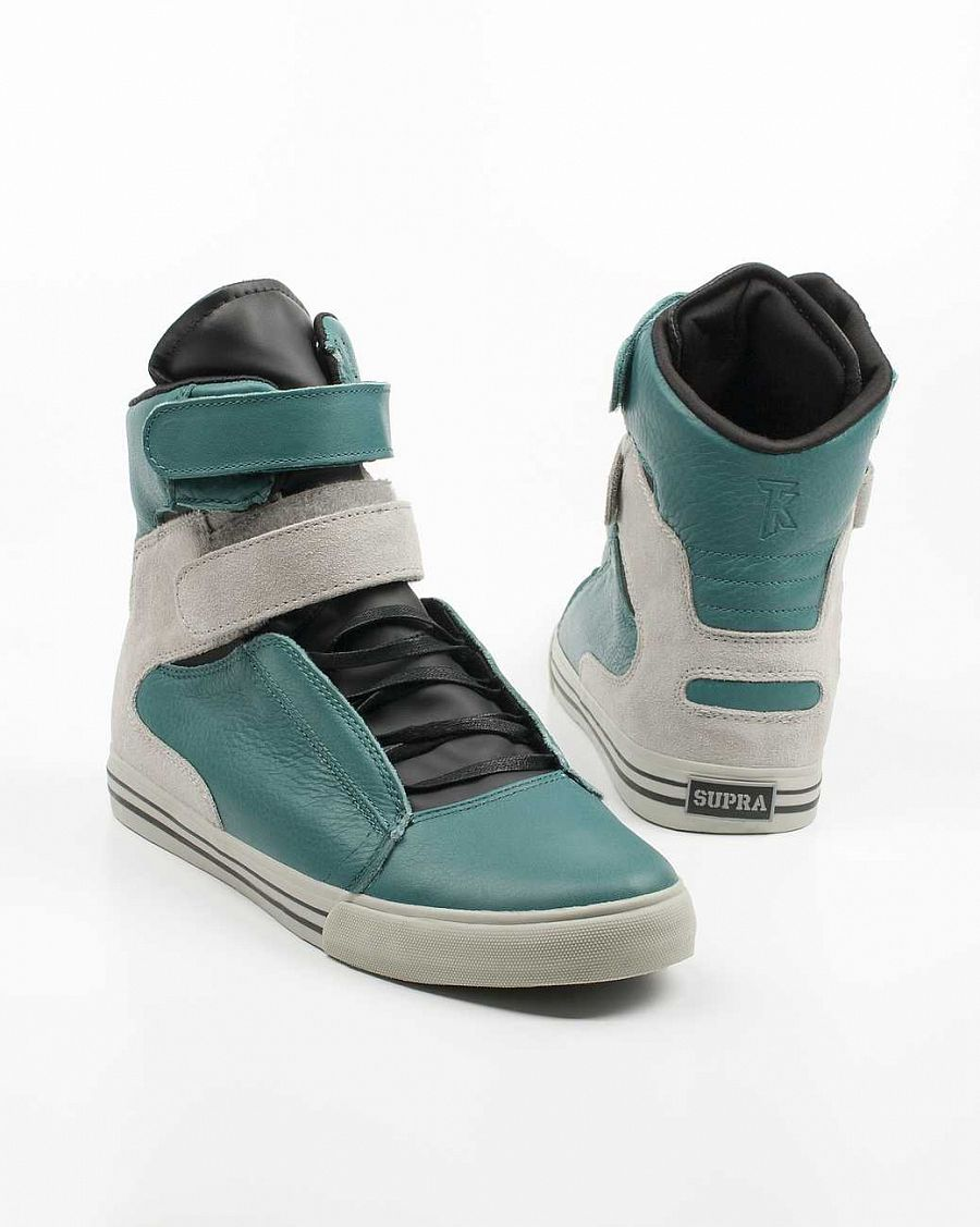 купить Кеды Supra Society Terry Kennedy Pro Model Tuf Teal Steel Suede в Москве