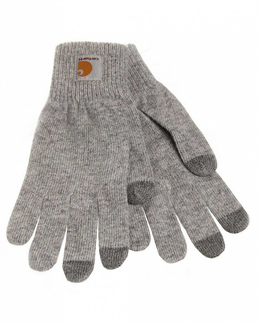 Перчатки Carhartt WIP Touch Screen Gloves Grey отзывы