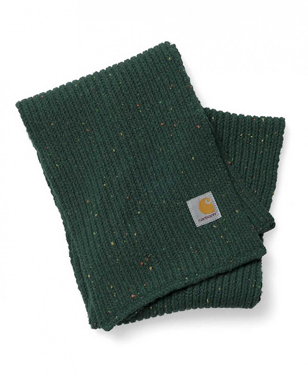 купить Шарф Carhartt WIP Anglistic Plain Scarf Bottle Green в Москве
