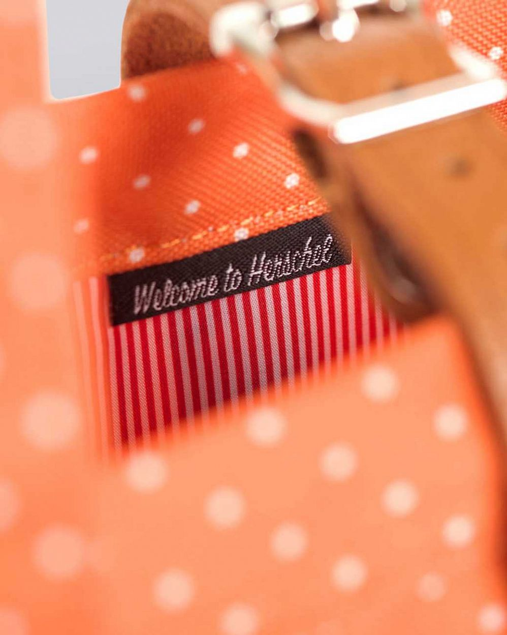 Сумка herschel market orange polka dot купить в интернете