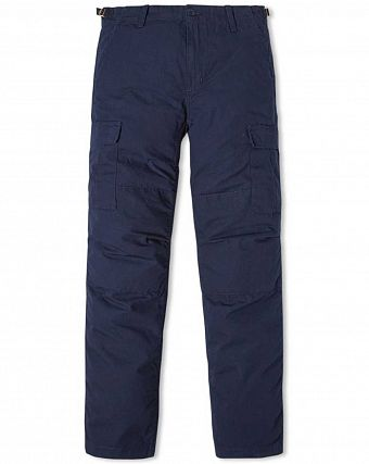 Брюки зауженные Carhartt WIP Aviation Regular Ripstop 5 Oz Duke