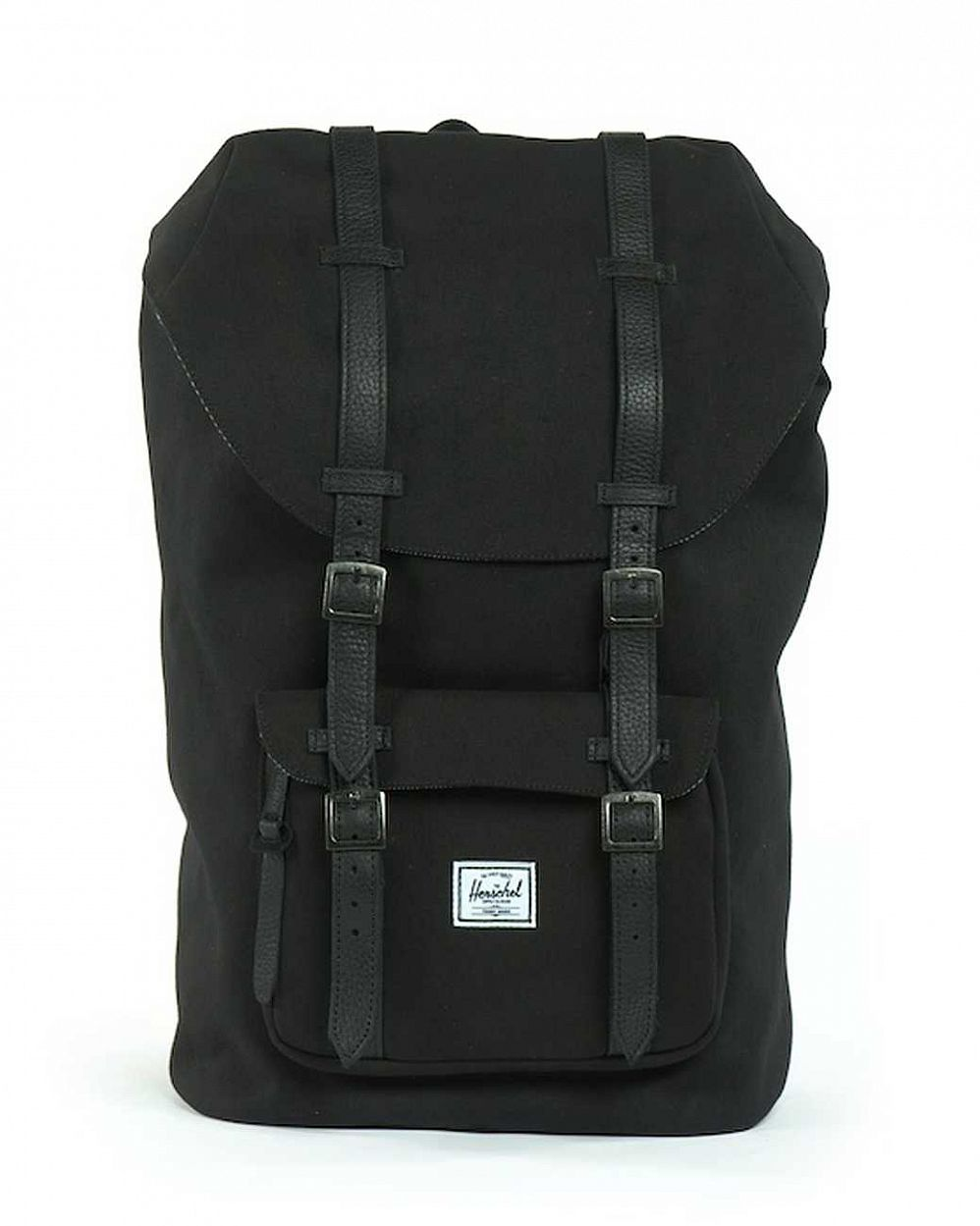 купить Рюкзак Herschel Little America Mid-Volume Canvas Black Black в Москве