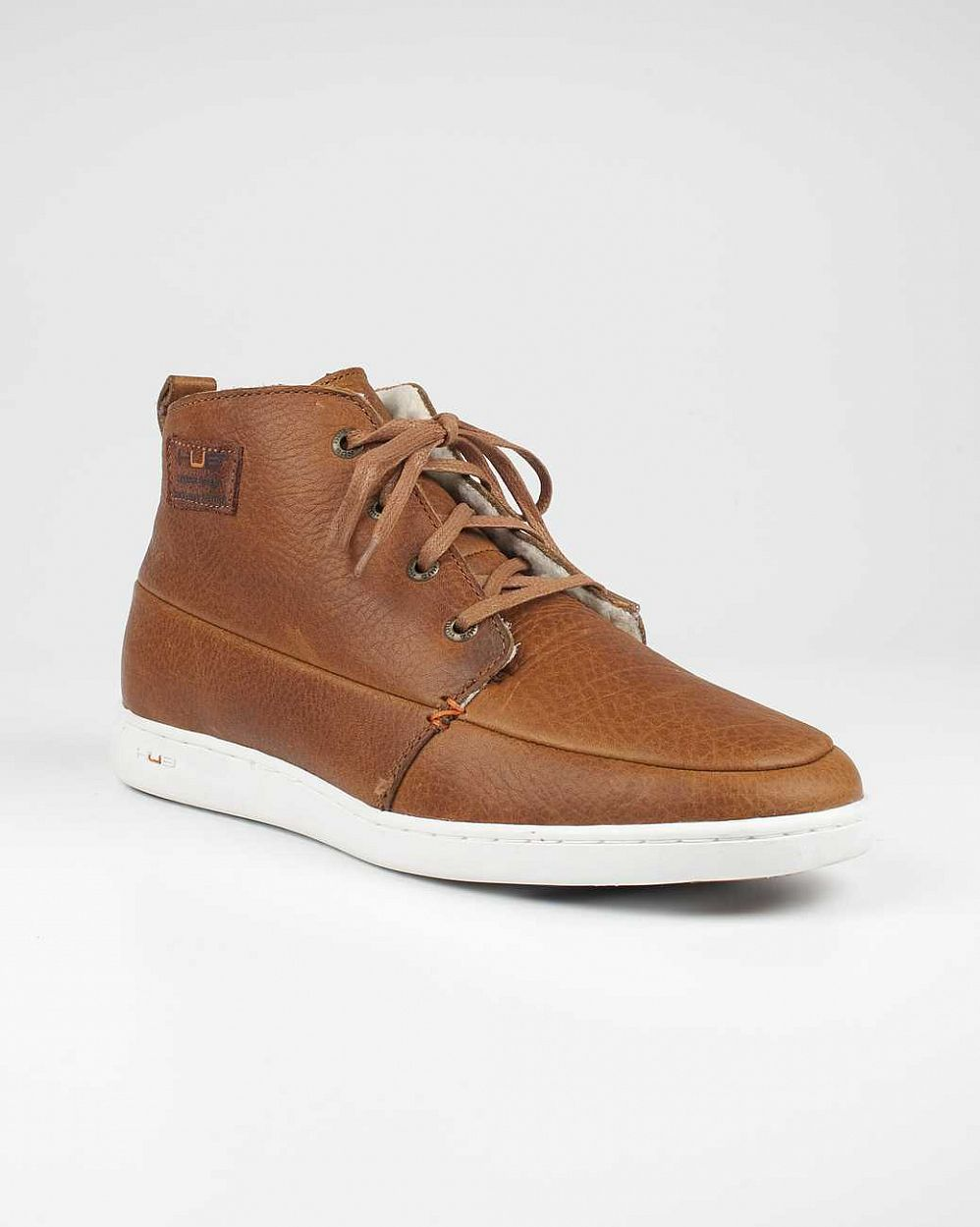 купить Ботинки Hubfootwear Kingston Wool Leather tobacco white в Москве