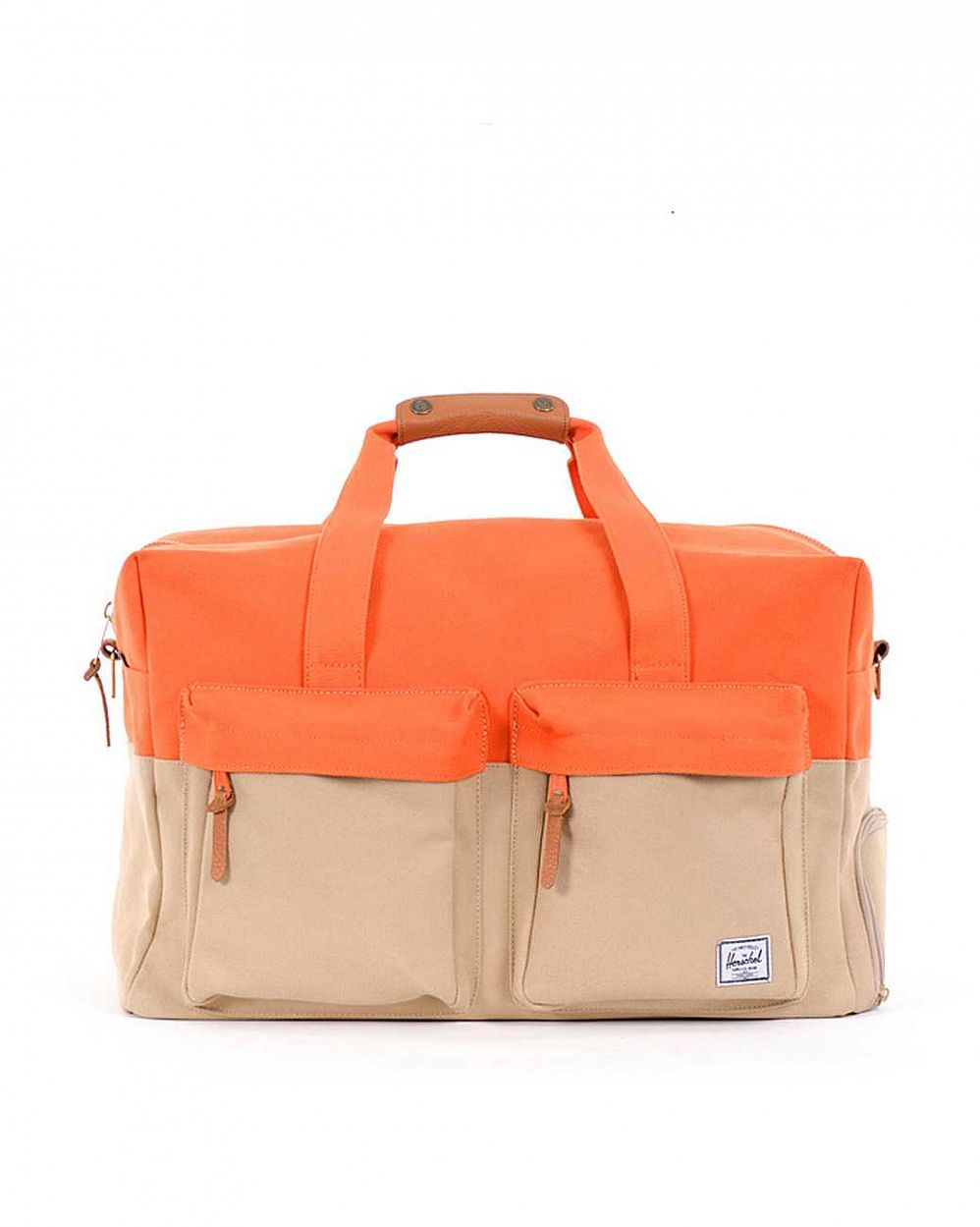 купить Сумка Herschel Walton (20oz Canvas) Khaki Burnt Orange 20 oz в Москве