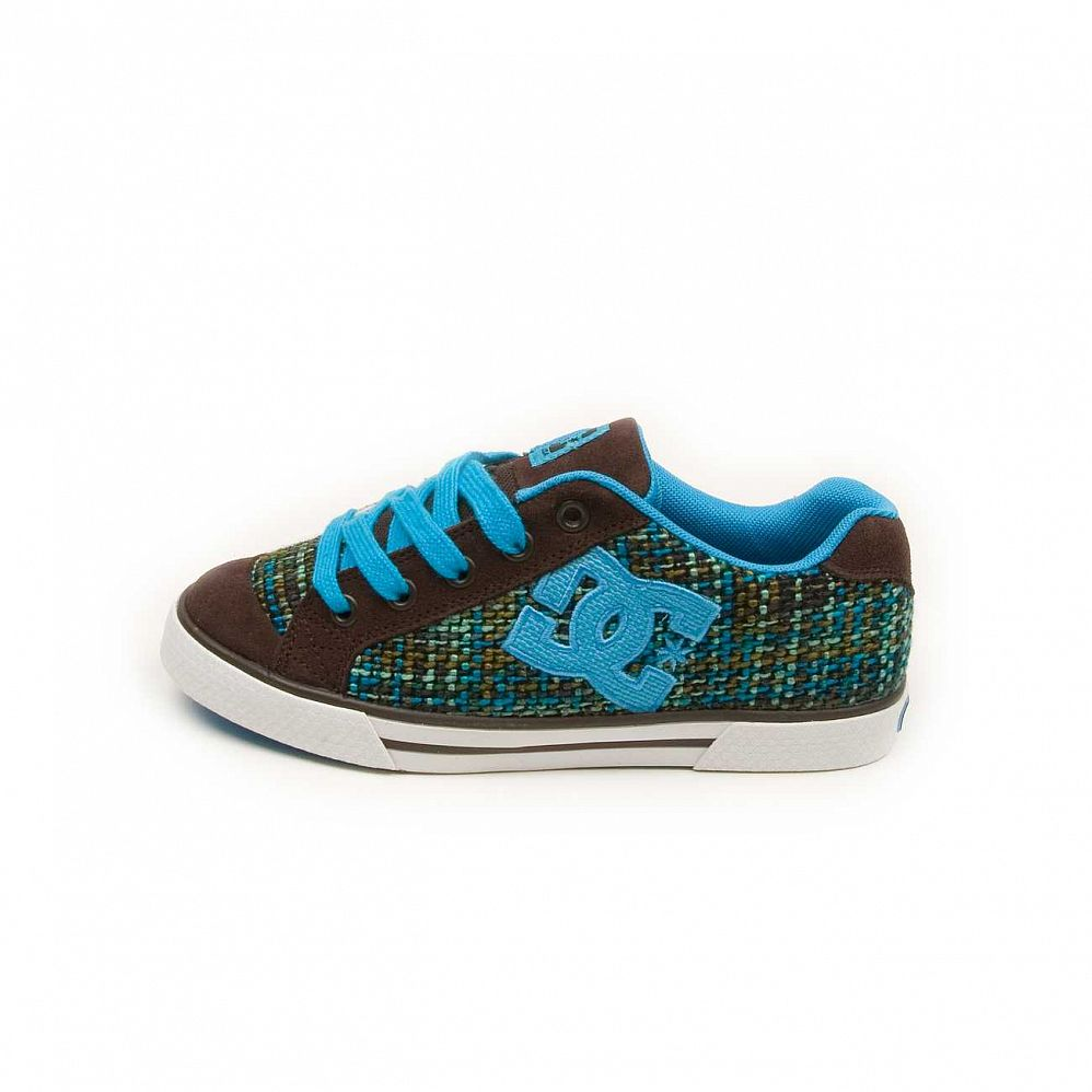 Кеды DC Shoes Chelsea W'S Dark Chocolate Turquoise отзывы