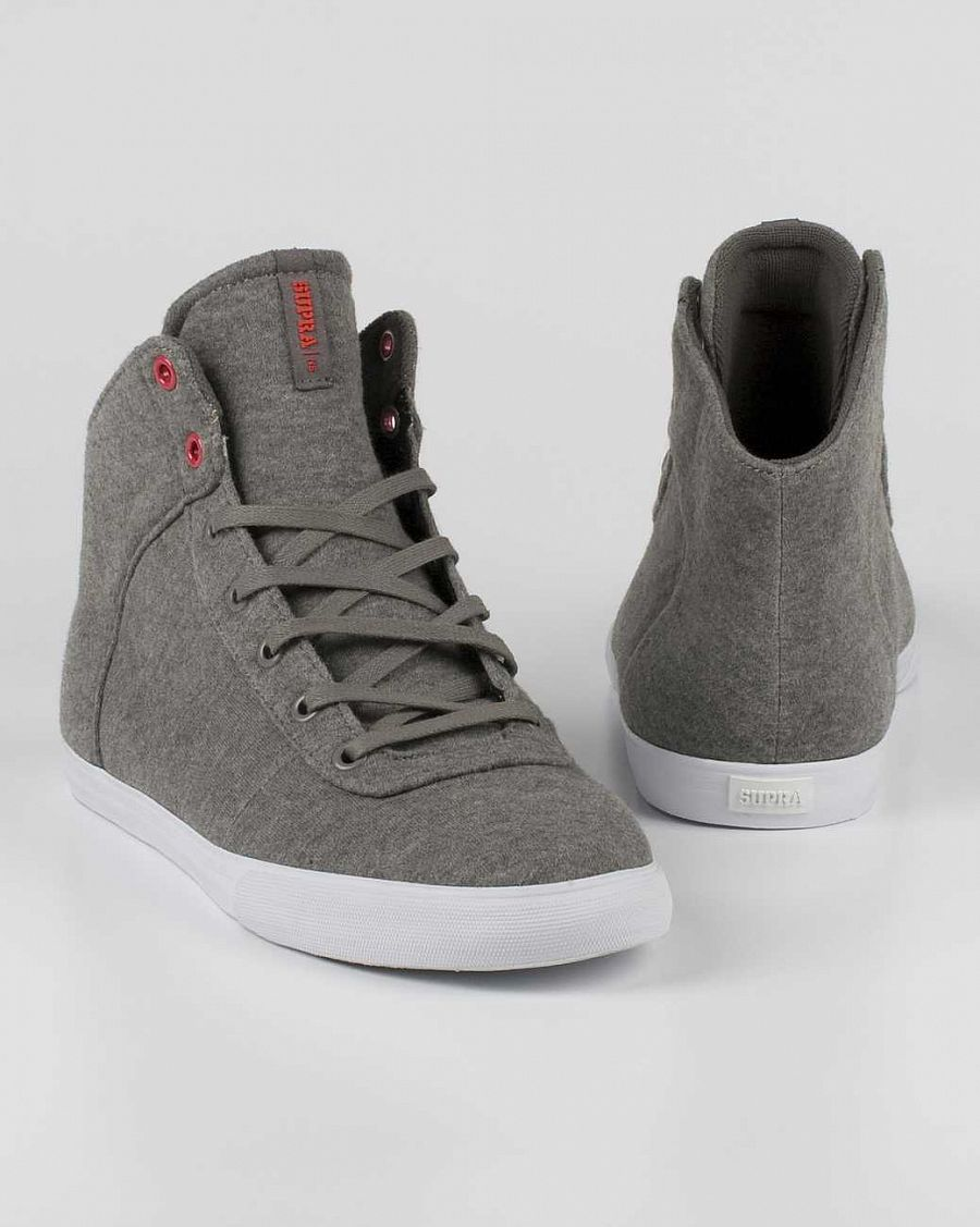 Кеды Supra Cuttler Grey Fleece отзывы