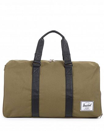 Сумка спортивная Herschel Novel Army Black