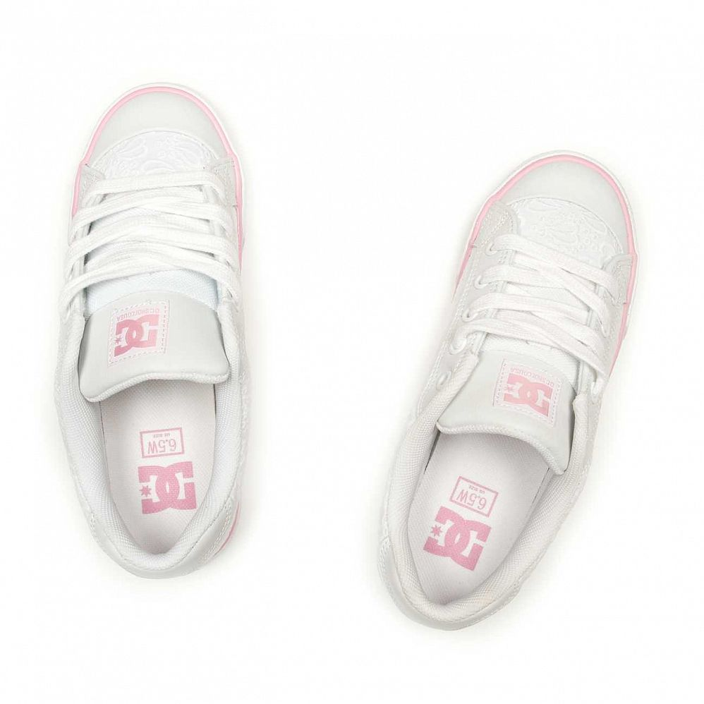Кеды DC Shoes Chelsea W'S White White купить в интернете