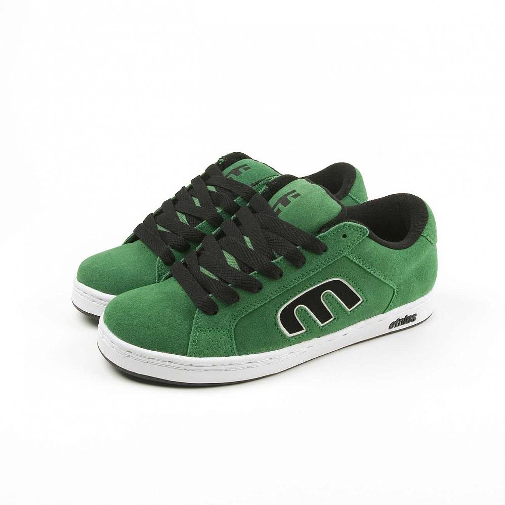 купить Кеды Etnies Digit Green White Black в Москве