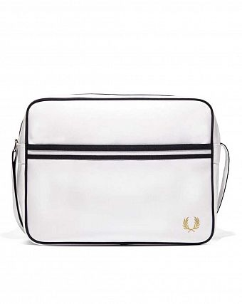 Сумка повседневная Fred Perry L5251 Classic Shoulder Bag White
