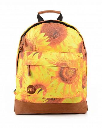 Рюкзак городской Mi-Pac Premium Sublimated Sunflowers Yellow