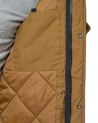 Парка утепленная Carhartt WIP Hickman Coat Jacket Brown