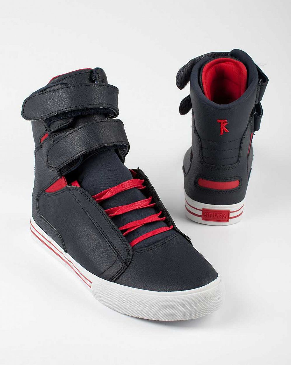 купить Кеды Supra Society Terry Kennedy red white red в Москве