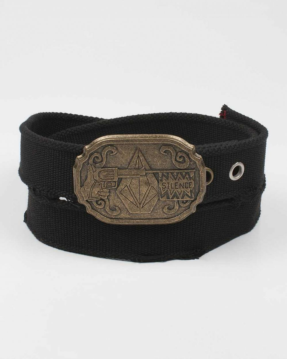 купить Ремень Volcom Fa Mike Aho Vegetarian Cowboy Belt Black в Москве