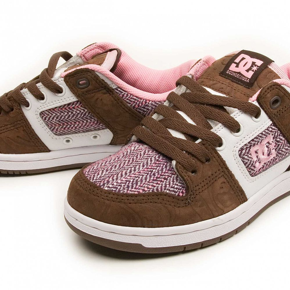 Кеды DC Shoes Manteca 2 W'S Dark Chocolate Pink цена в Москве