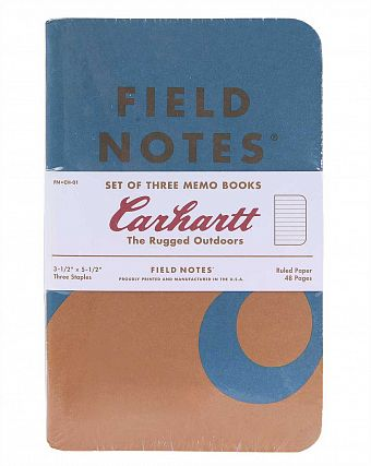 Блокнот Carhartt FIELD 3-Pack Exclusive Hunting Fishing Camping 48 page Тotebook