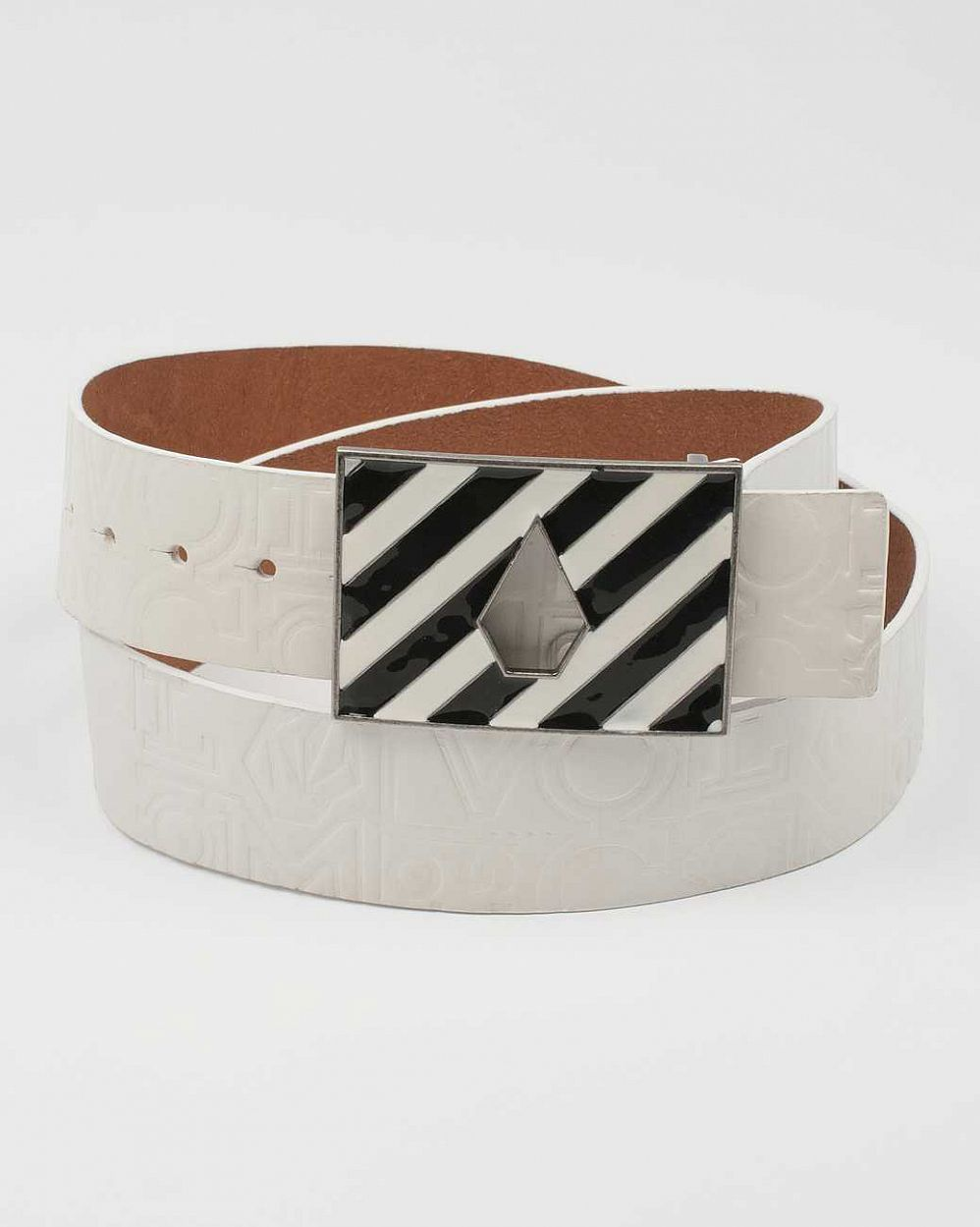 Ремень Volcom Band Print Guitar Strap Belt White отзывы