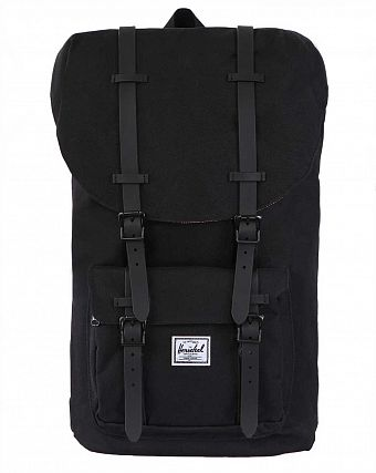 Рюкзак городской Herschel Little America Black Rubber