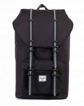 Рюкзак-мешок Herschel Little America Hounds Away Black Grey