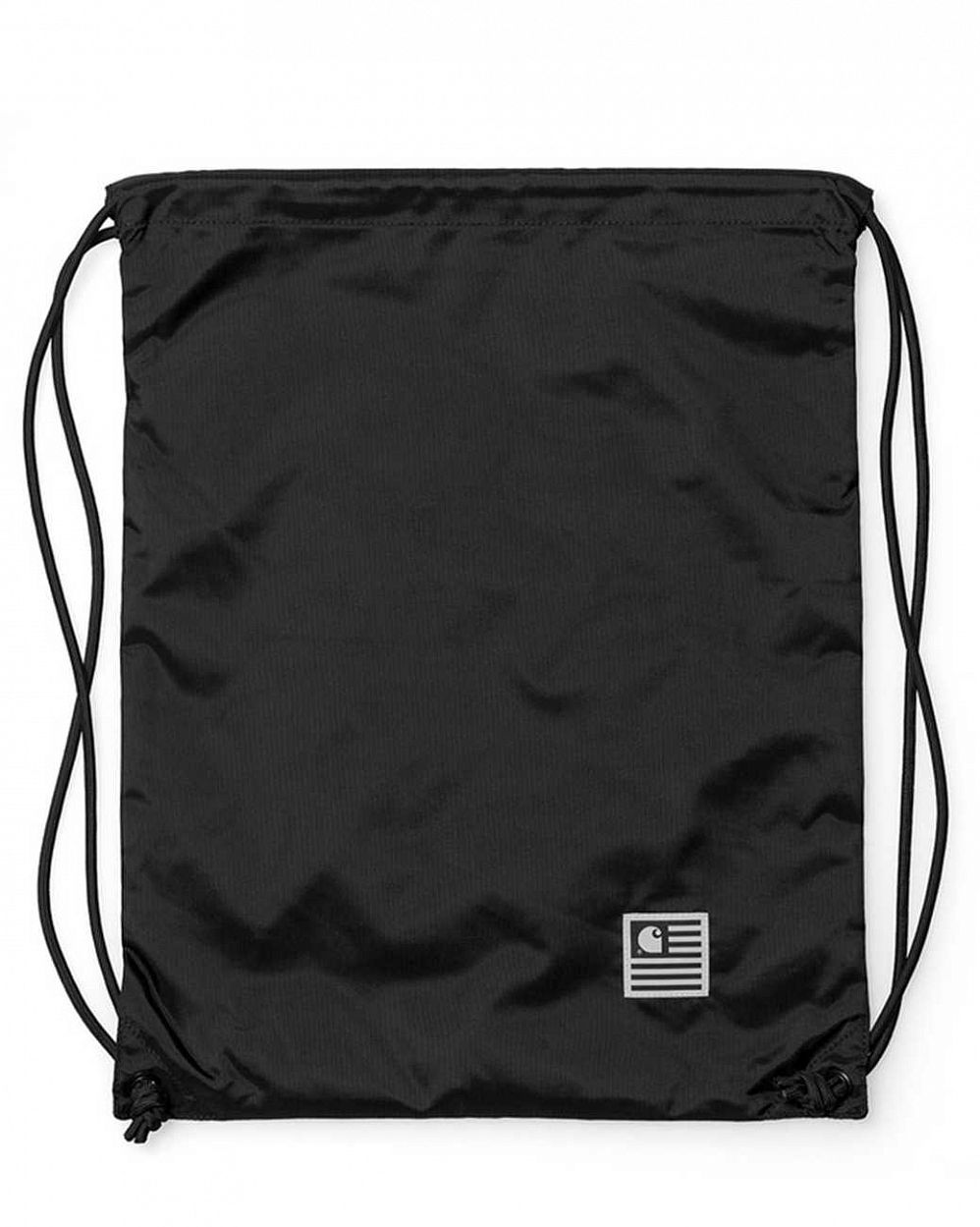 Рюкзак-мешок Carhartt WIP Slate Bag Black отзывы