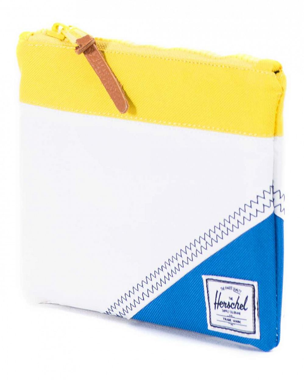 Папка Herchel Field Pouch Medium White Yellow Regatta цена в Москве