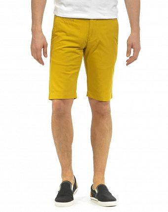 Шорты мужские Knowledge Cotton Apparel Chino Woven Lemon