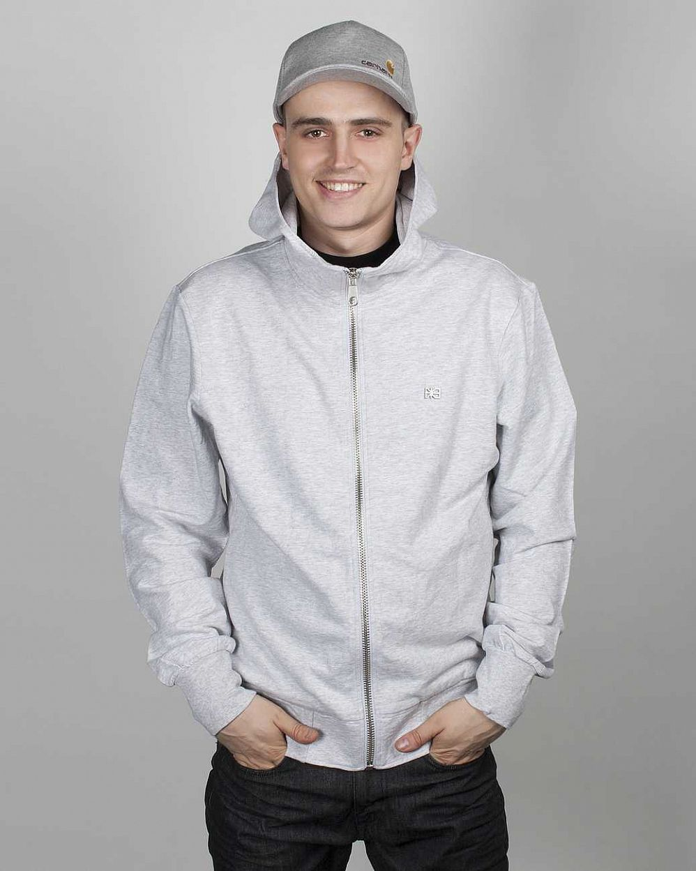 Толстовка Makia Steel Flag Hooded Sweatshirt Grey отзывы
