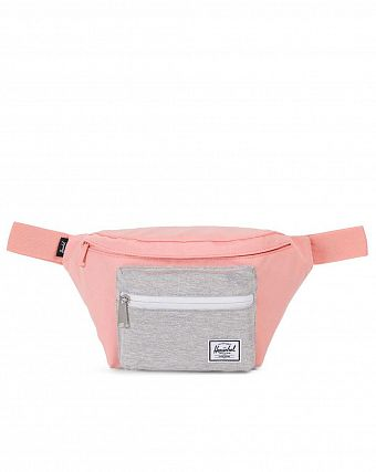 Сумка поясная Herschel Seventeen Peach Light Grey