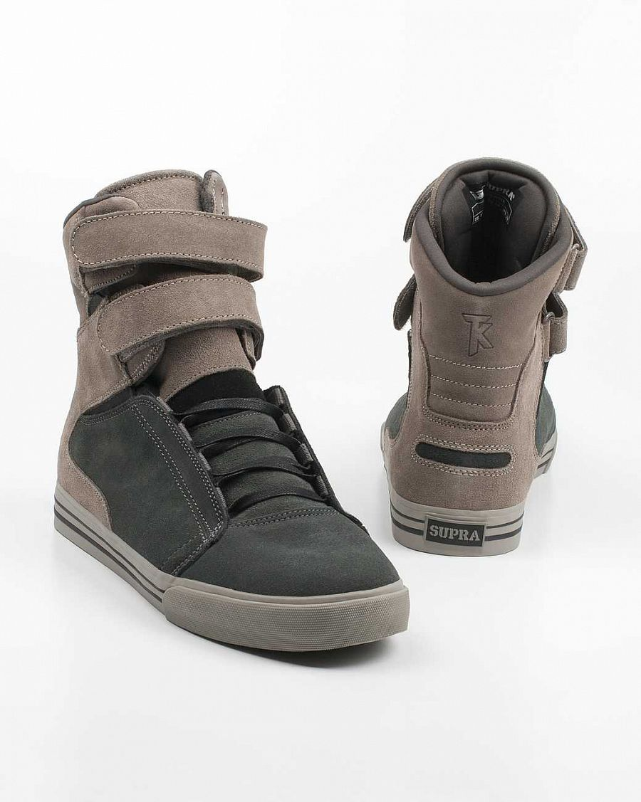 купить Кеды Supra Society Terry Kennedy Pro Model Tuf Grey/warm Grey Suede в Москве