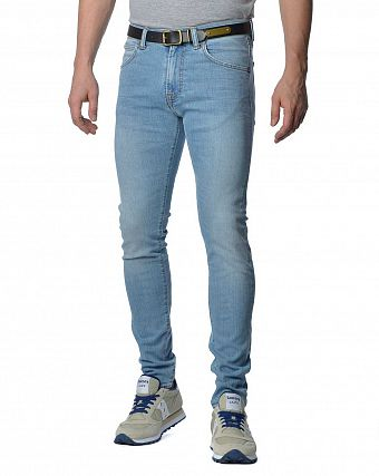 Джинсы мужские узкие Edwin ED-85 Slim Tapered Low Crotch CS Denim 11 Oz Light Trip
