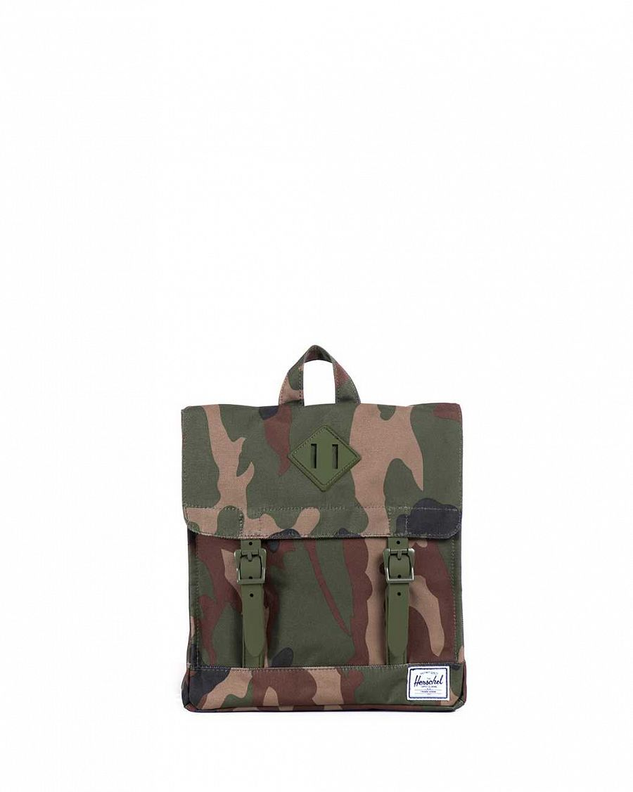 Рюкзак маленький Herschel Survey Kids Woodland Camo Army Rubber отзывы