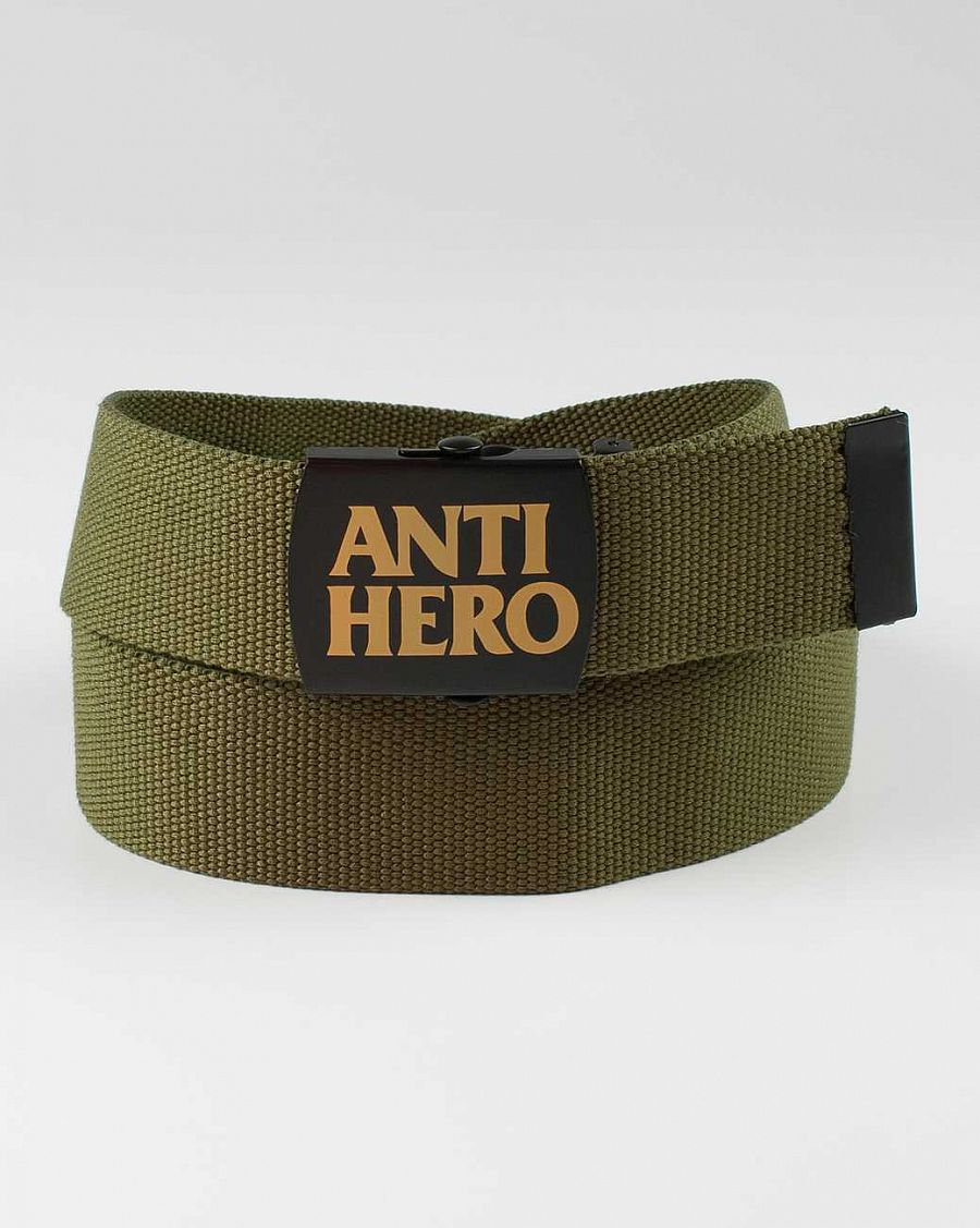 Ремень Anti-hero Onesz Force Web Belt Green отзывы